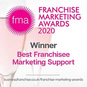 Franchise marketing award logo