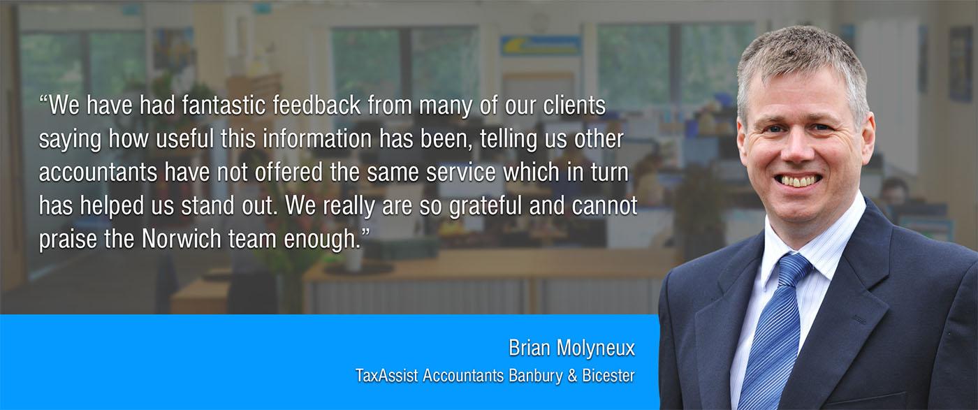 Brian Molyneux Testimonial